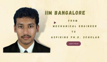 Ph.D. Admission Experience 2021 | IIM Bangalore | OM AREA