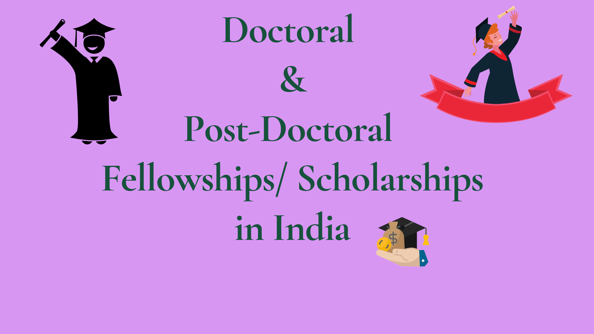 Doctoral & Post Doctoral Scholarships