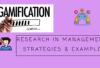 Research ideas for Gamification in management