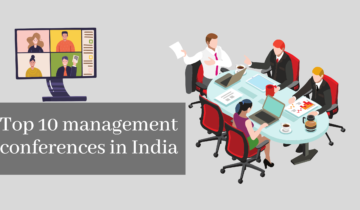 Management conferences in India (Top 10)